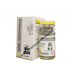 Enantato de Testosterona - King Pharma - Ciclo 6 - 250mg (10ml)
