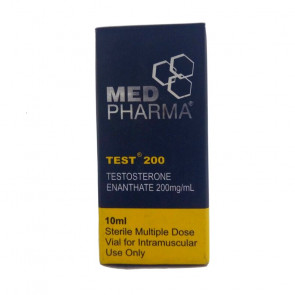 Enantato de Testosterona - Med Pharma - 200mg (10ml)