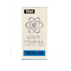 Propionato de Testosterona - Testogar - Gold Pharma - 100mg (10ml)